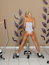 Erica Fontes Hits the Gym Before Gaped with Speculum