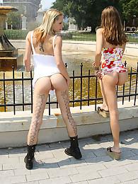Faye Runaway & Isabella: Indecent Exposure