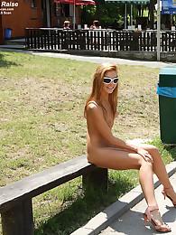 Sisterhood Raise Nude in Public