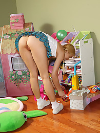 Franziska Toying in Playhouse