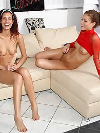 Juliette Shyn with Lesbian Love Yasmine