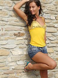 Beautiful Sandra Strips Outdoors