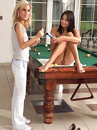 Alana Plays Billiards