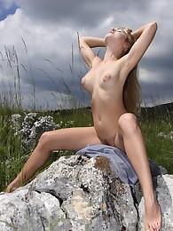 Femjoy Presents Rubie in Alpine Meadow