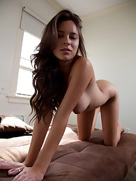 Naughty Nina will seduce you with her cute freckled face and mind-blowing body!