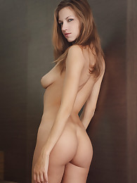 Supermodel Eufrat poses nude in the House of Glass