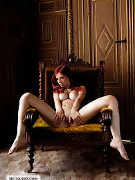 Spectacular Arielle moves arousingly in her favorite chair. These images show Arielle like she is – highclass – glamourous and extremly sexy.